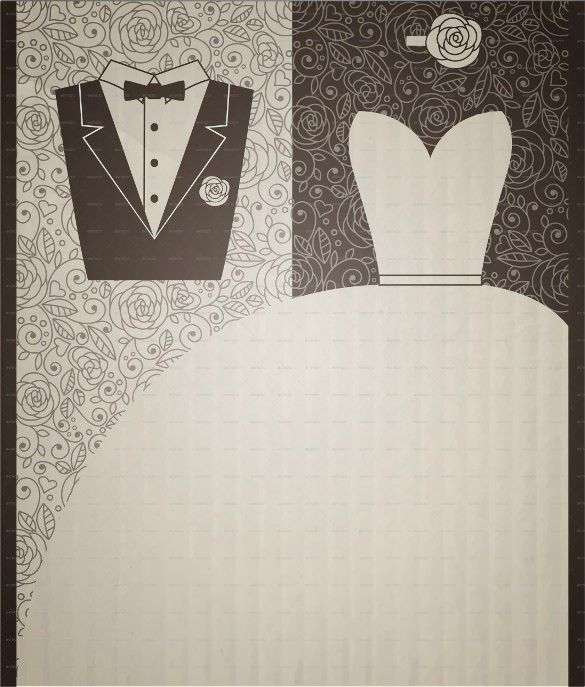 Wedding Dress Patterns – 21+ Free EPS, AI, Illustration Format ...