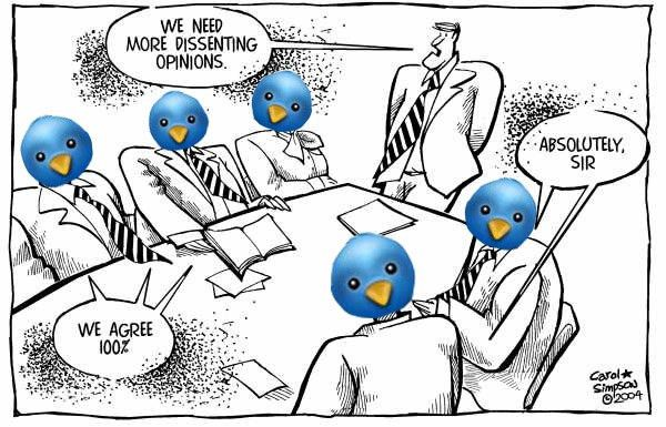 Why I Hate Twitter: The Death of Dissent | #RyersonSA