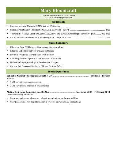 licensed massage therapist resume unforgettable massage therapist