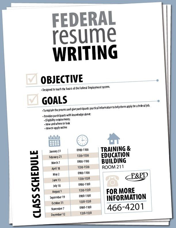 how to write federal resume federal resume sample and format the