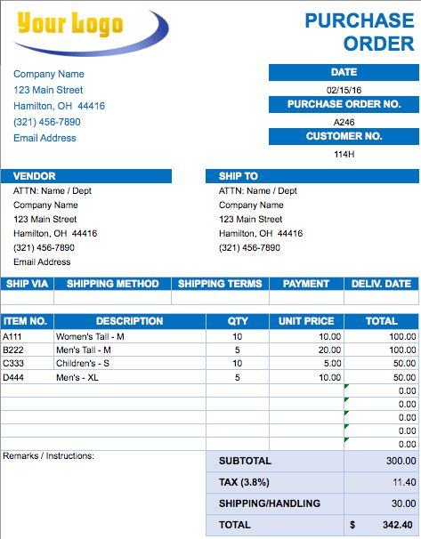 Download Vendor Invoice Template | rabitah.net
