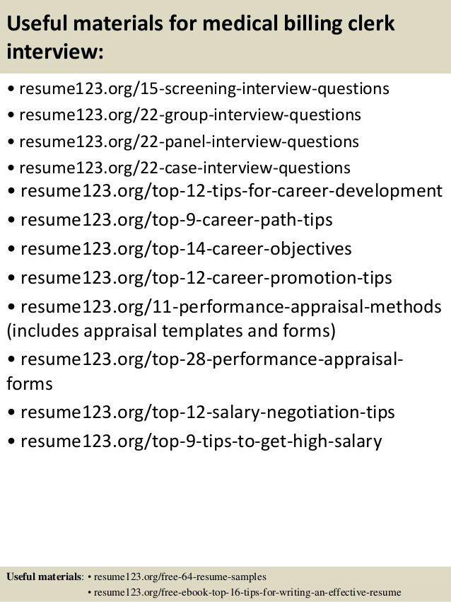 medical billing resume samples professional medical billing and