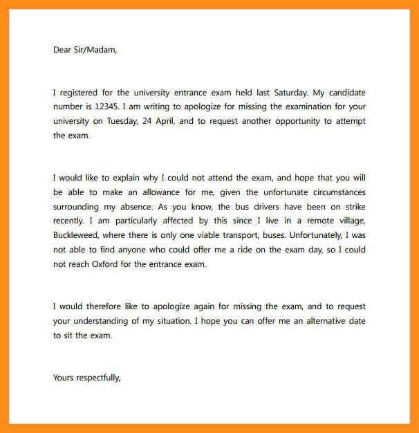 Formal Letter – agenda example