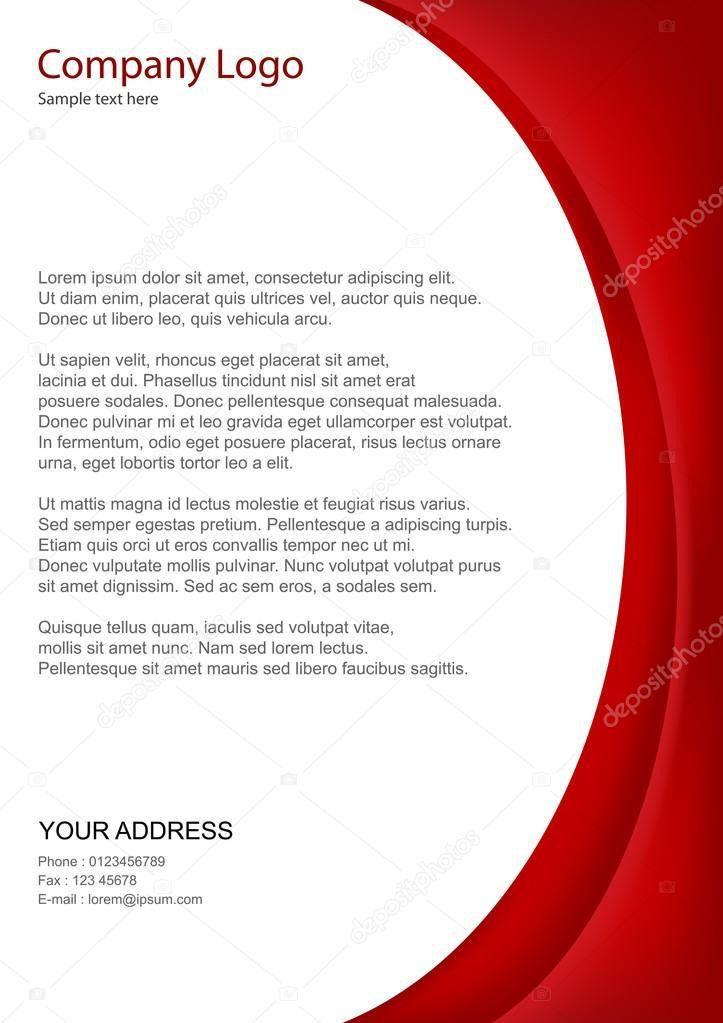 Business letterhead template — Stock Photo © get4net #3867174