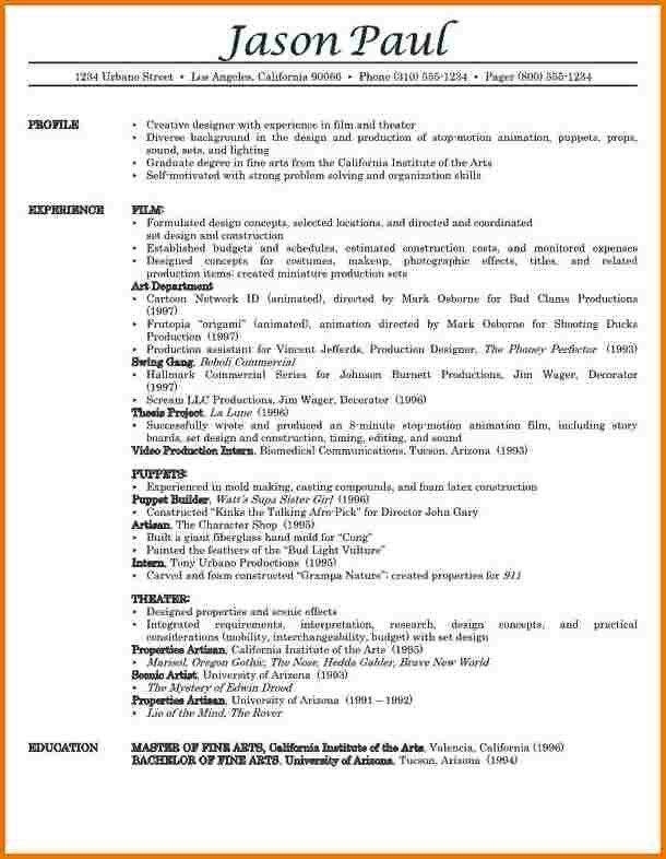Attractive Inspiration Ideas Examples Of Professional Resumes 2 ...