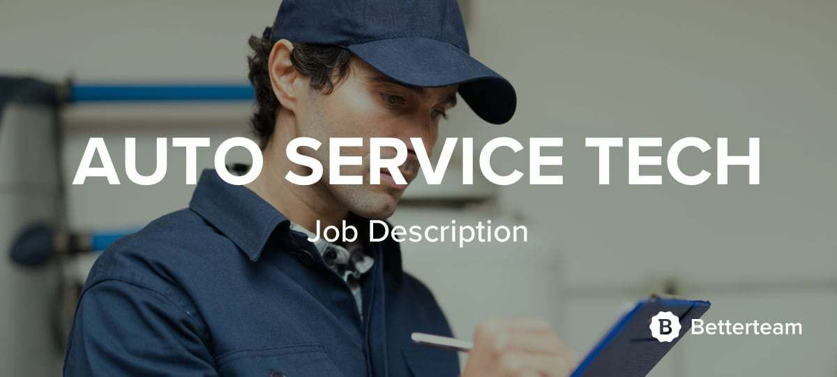 Auto Service Technician Job Description. auto mechanics ...