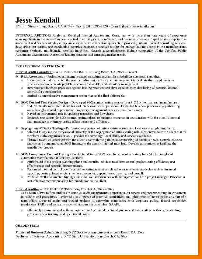 8+ auditor resume examples | mailroom clerk