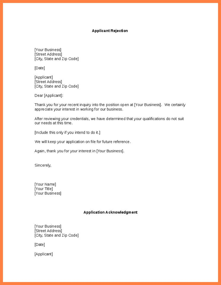 10+ Examples Of Unsolicited Application Letter | Bussines Proposal .