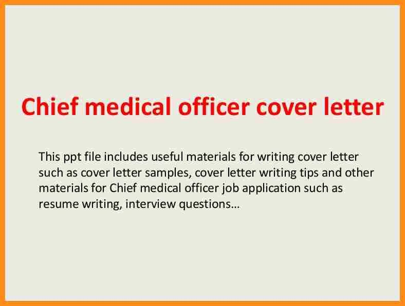 Chief Nursing Officer Cover Letter