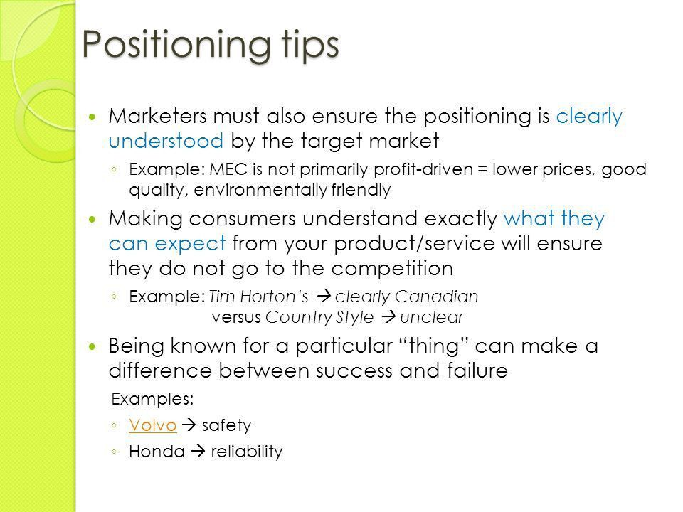 Product Positioning. - ppt video online download