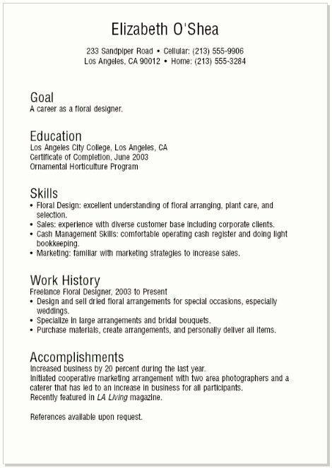 Download Teen Resume | haadyaooverbayresort.com