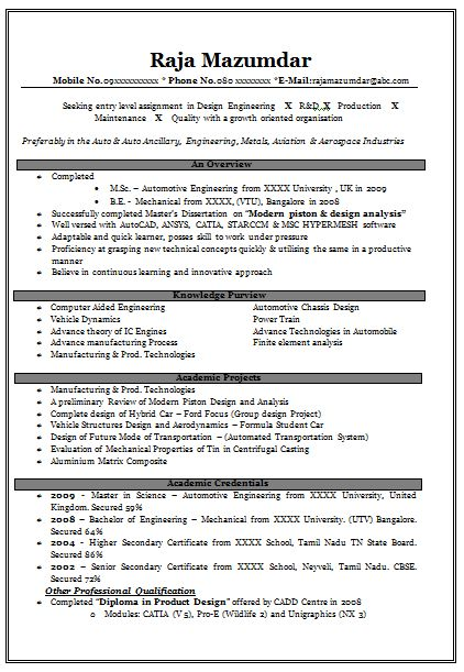 Writing An Effective Resume 17 Successful Resume Sample Physical ...