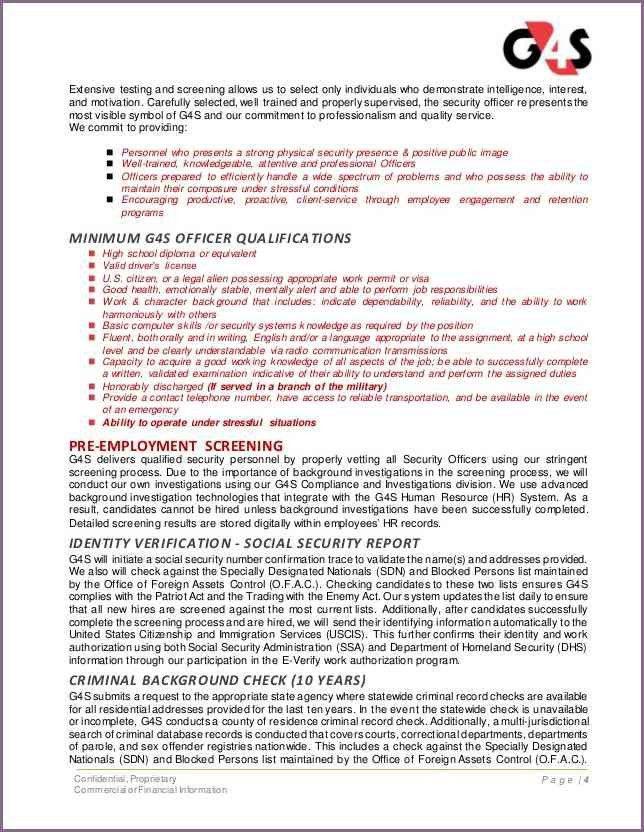 SECURITY PROPOSAL LETTER SAMPLE | proposalsampleletter.com