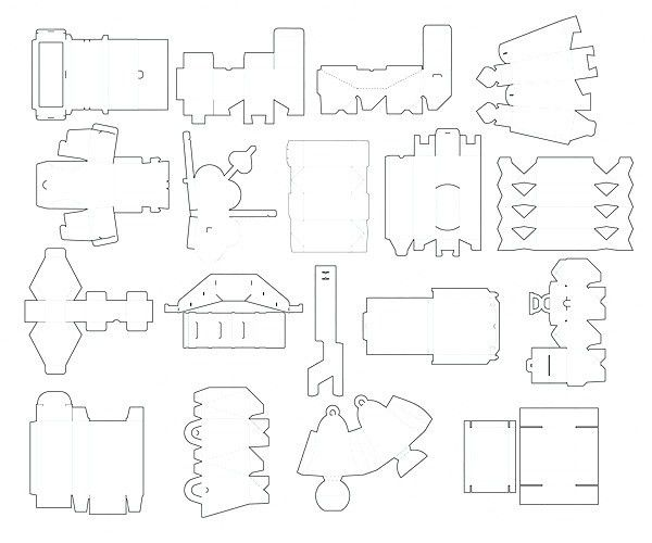 boxes templates - Αναζήτηση Google   Packaging   Pinterest   Box ...