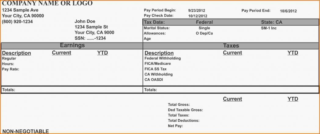 Simple Sample Payslip Template Pay Rise Letter Screensh ~ Ptasso