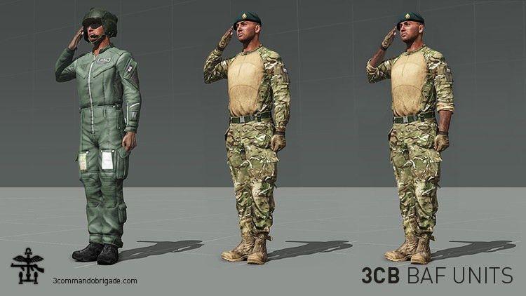 3CB BAF Units - Units - Armaholic