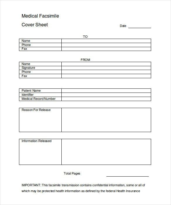 Cover Sheet – 13+ Free Word, PDF Documents Download! | Free ...