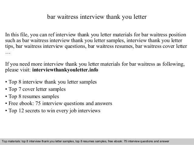 cover letter waitress waitress cover letter example icoverorguk