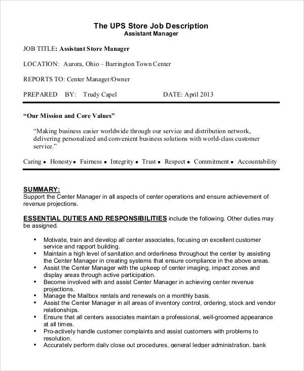 sample product manager job description. regional property manager ...