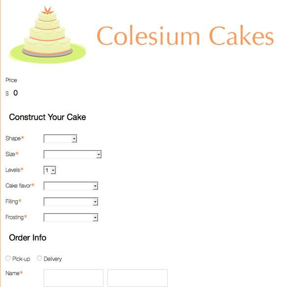 Bakery Order Forms | Bakery Forms, Cupcake Forms & More | Formstack