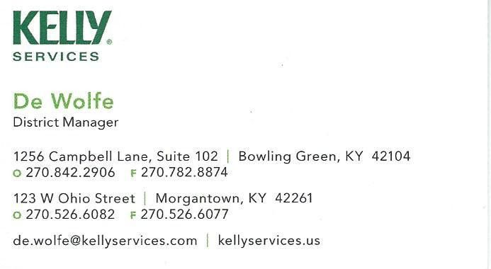 Business Cards - Morgantown Chamber of Commerce