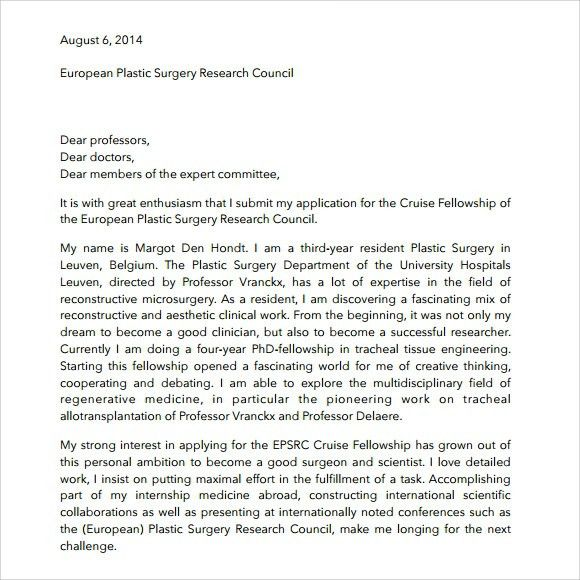 Letter Of Intent Medical School | custom-college-papers