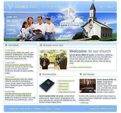 Church website template | Best Website Templates