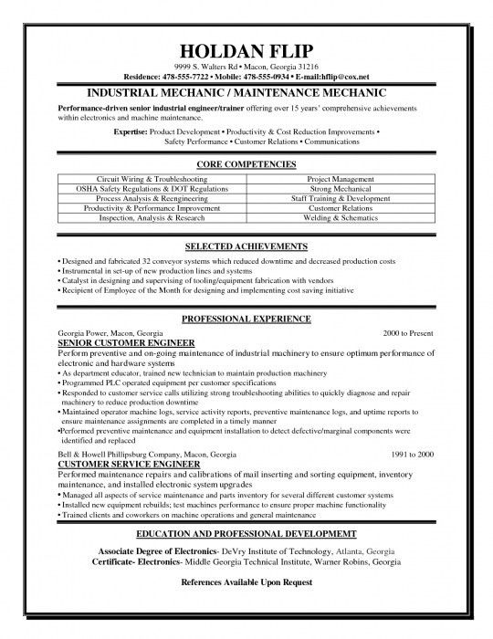 pc technician resume template. computer technician specialist ...