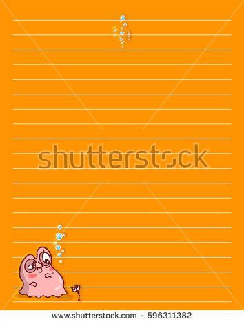 Lined Printing Paper, free printable lined notebook paper free ...