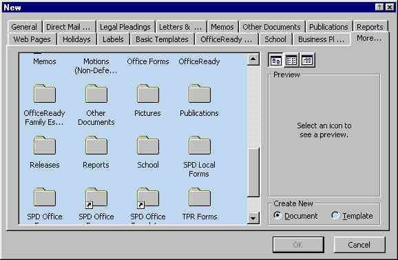 Templates in Microsoft Word - one of the Tutorials in the ...