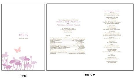 Butterfly Wedding Invitations: Peach and Lavendar Invitation ...