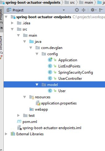 Spring Boot Actuator Rest Endpoints Example - DevGlan