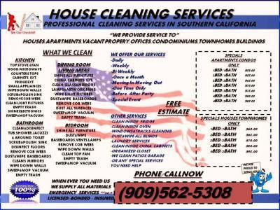 Inland Empire House Cleaning Service - Fontana, CA