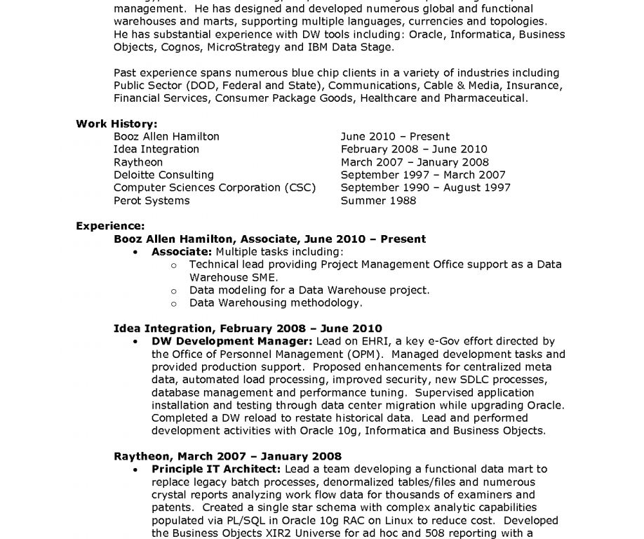informatica resume sample professional informatica developer