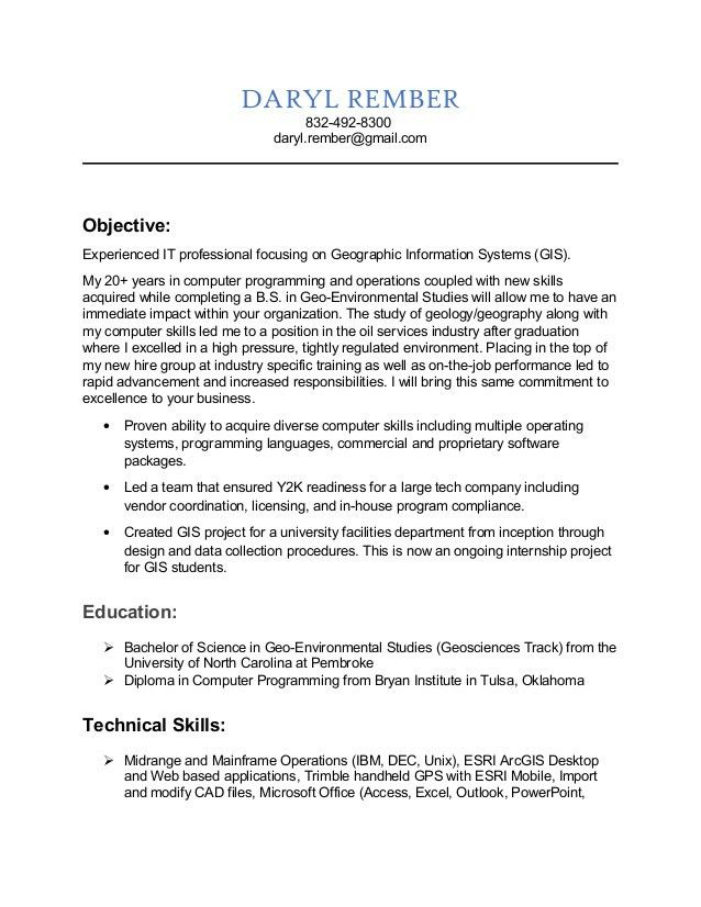 gis technician cover letter basic gis technician cover letter