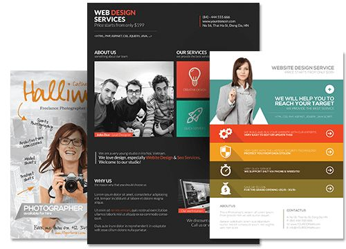 Premium PSD Flyer Templates for Photoshop | FlyerHeroes