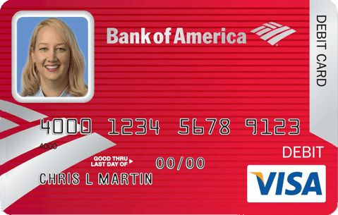 AgileBits Blog | Bank of America sample debit card