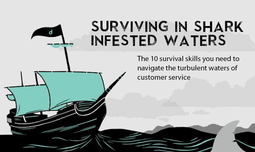 Customer Service Skills: 10 Ways to Survive Shark Infested Waters ...