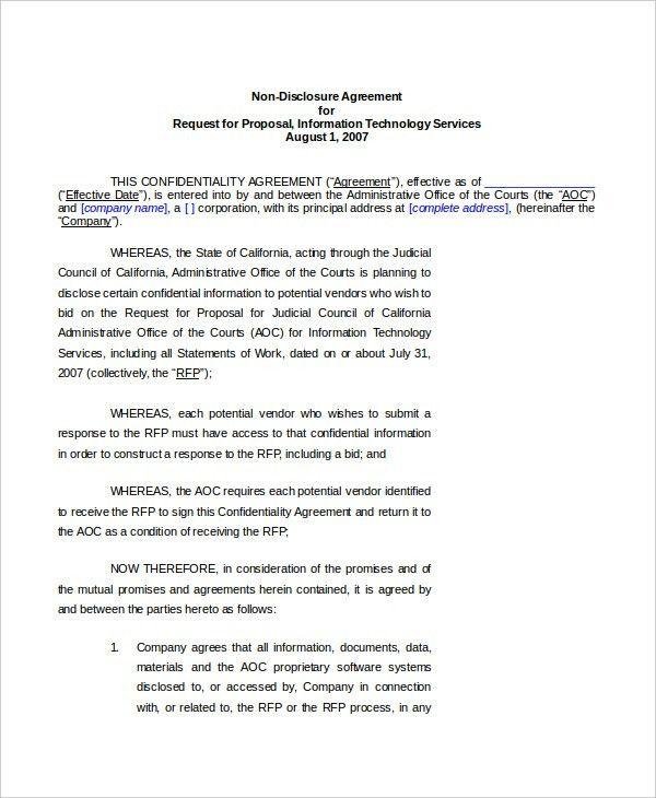 Vendor Agreement Format Vendor Agreement Template 12 Free Word