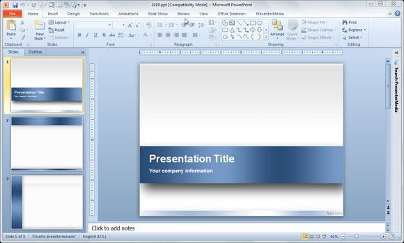 powerpoint templates 2010 free download