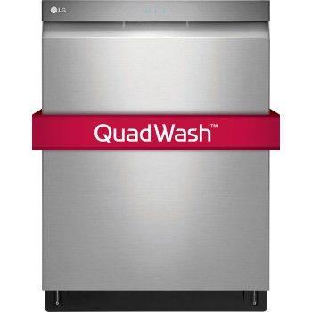 LG LDP6797ST: Top Control SmartThinQ™ Dishwasher w/ QuadWash | LG USA