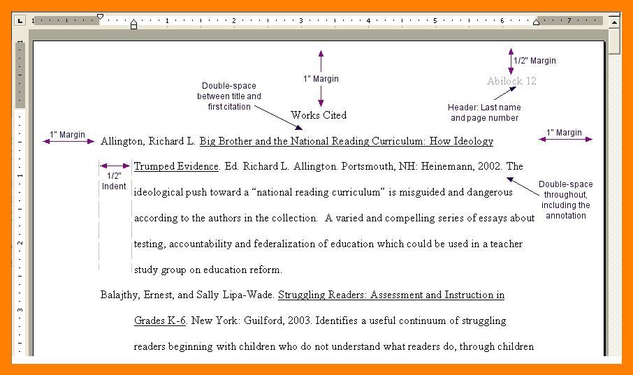 7+ mla 8 works cited format | biology resume
