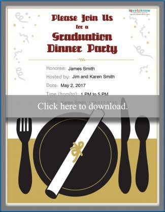 College Graduation Party Invitation Options