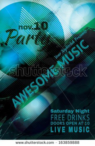 Club flyer background template free vector download (50,211 Free ...