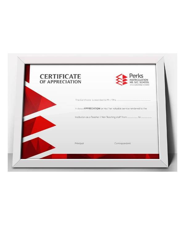 26+ School Certificate in PDF