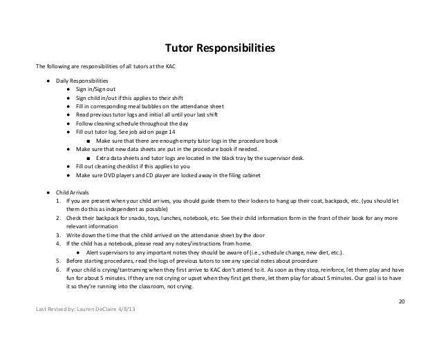 Kac AP Training Manual 2013