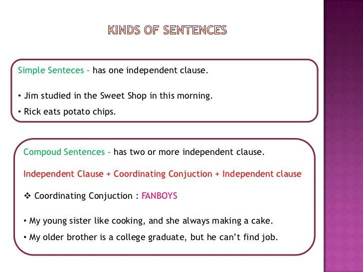 5th group ( dependent and independent clause )
