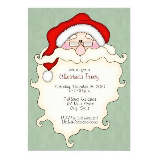 16 best Invitation Templates images on Pinterest | Christmas party ...