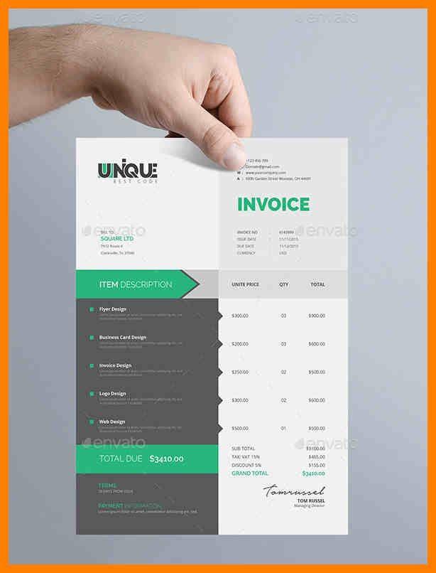 4+ best invoice design | care giver resume