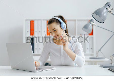 Callcenter Girl Stock Images, Royalty-Free Images & Vectors ...